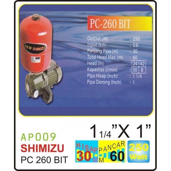 SHIMIZU PC 260 BIT
